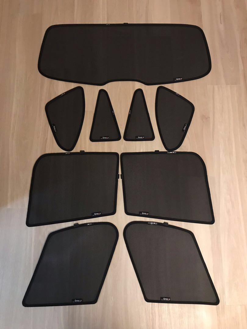 BMW X1 F48 Groovy Sunshade 太陽擋窗網
