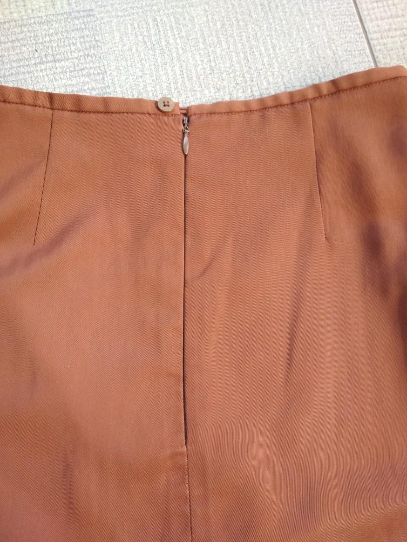 Brown Skirt Murah