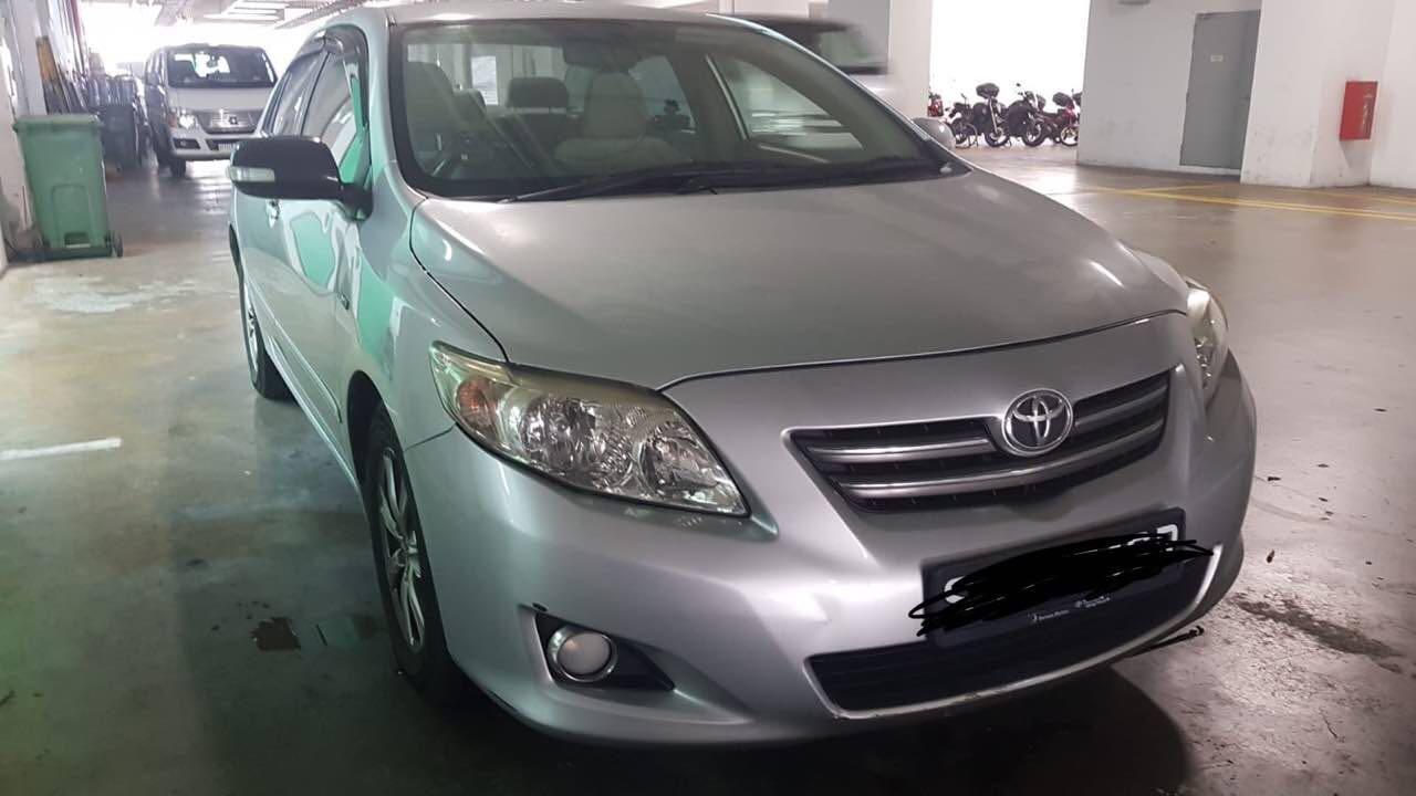 [COE Car / GoJEK / Grab / Car Rental] Toyota $330 Weekly for Rent