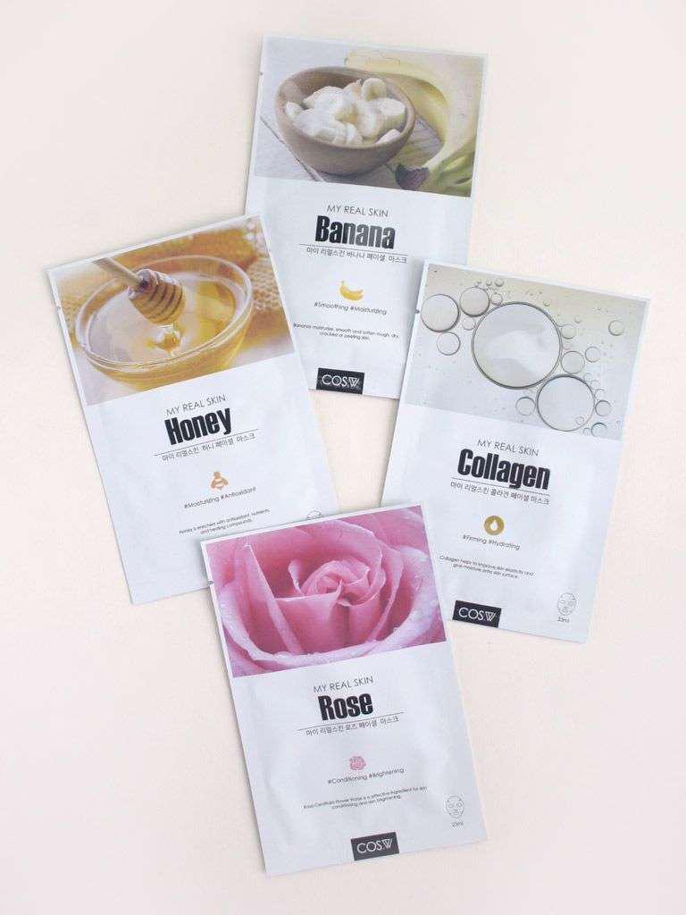 COS.W - MY REAL SKIN FACIAL MASK