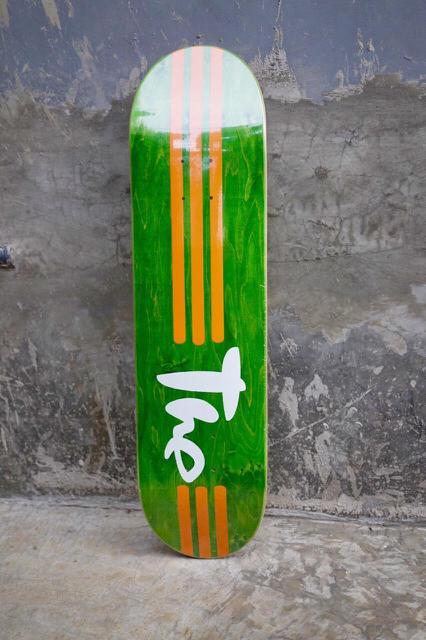 Deck Skateboard Merk THE Skateboard