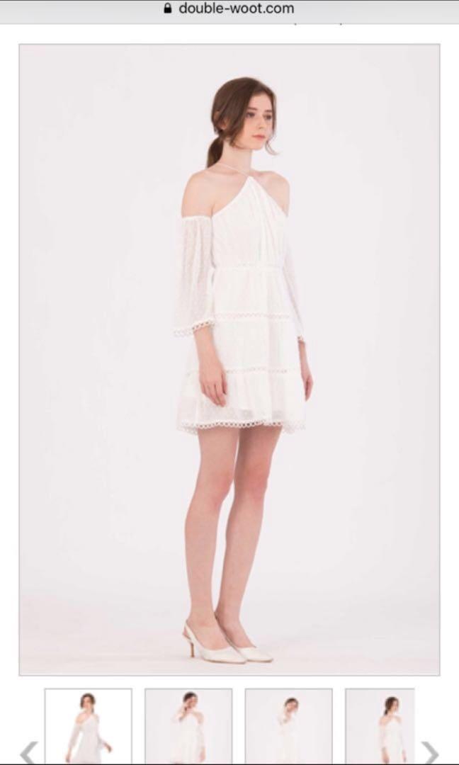 Doublewoot Dariseria Dress (white)