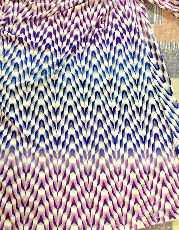 DvF Silk Wrap Dress US Size 4 (Cut-Label)