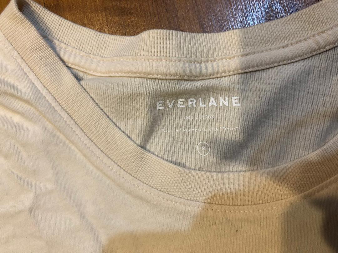 Everlane Blush Box Tee