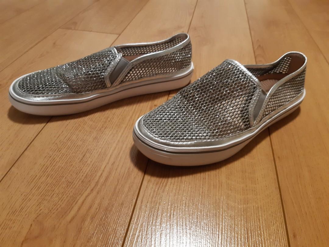 KATE SPADE NEW YORK  Sallie Metallic Slip-On Sneakers