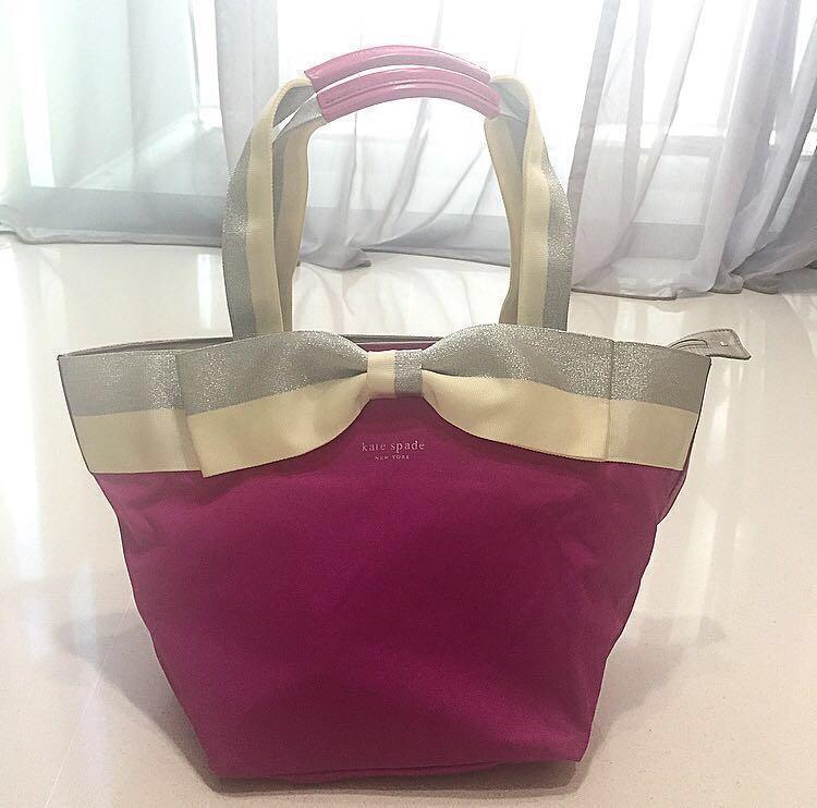 KATE SPADE Tote Bag                            #MRTTampines #MRTSengkang #MRTHougang #MRTSerangoon #MRTPunggol #MRTRaffles #MRTBedok #MRTCCK #MRTJurongEast #MRTYishun