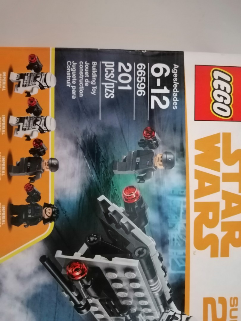 LEGO Star Wars 66596//66597 Super Battle Pack 2 in 1 First Order Imperial Jedi