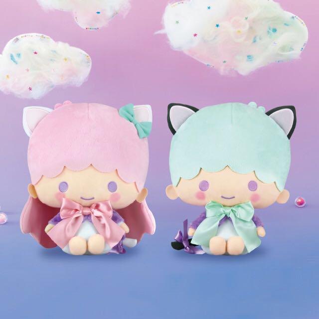 Little twin stars Kiki Lala 貓耳 一套兩隻 抓樂霸 toreba 景品 (日本直送) 特價景品