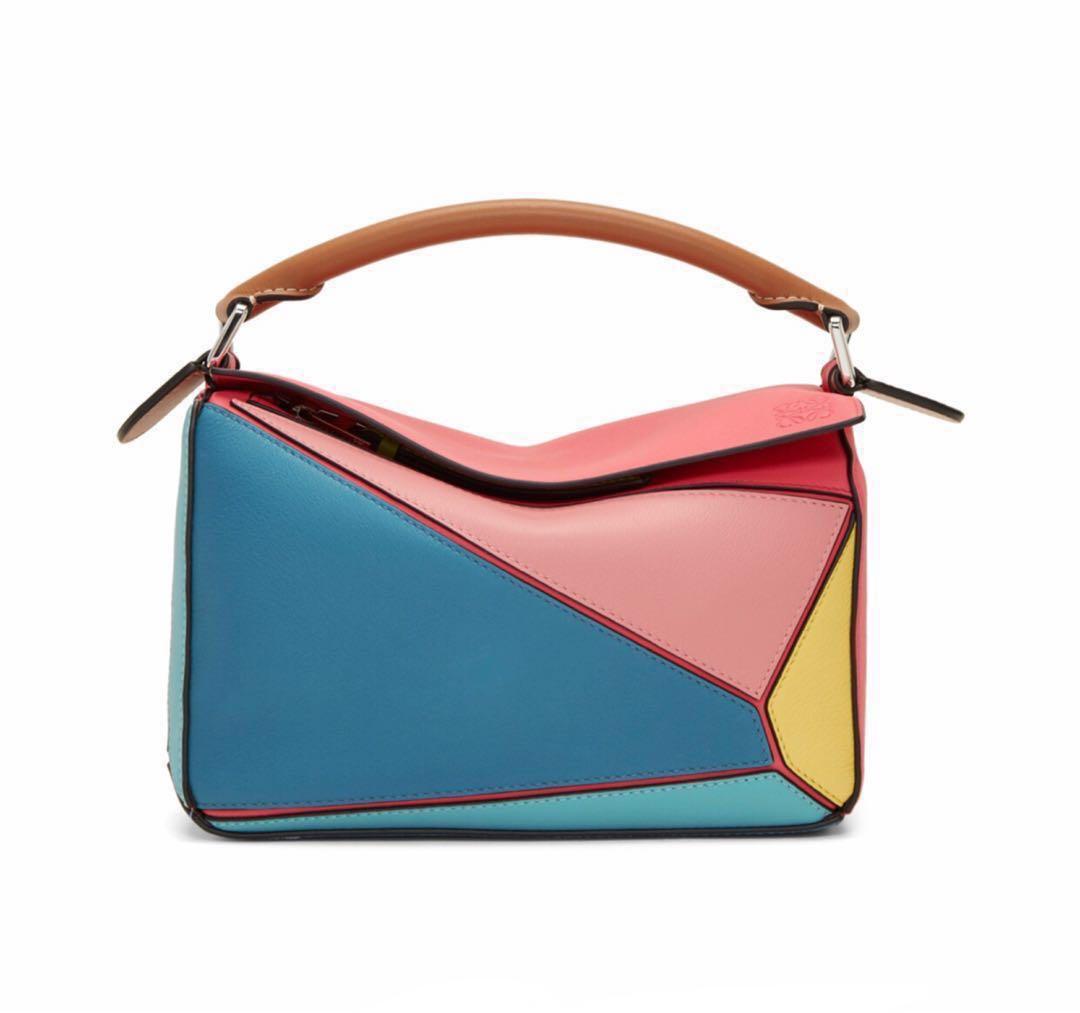 Loewe Multicolor Small Puzzle Bag的圖片搜尋結果