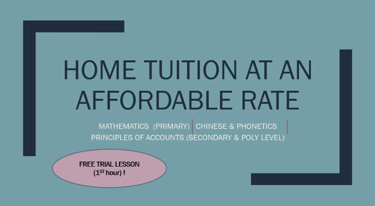 Looking for a Home Tutor?