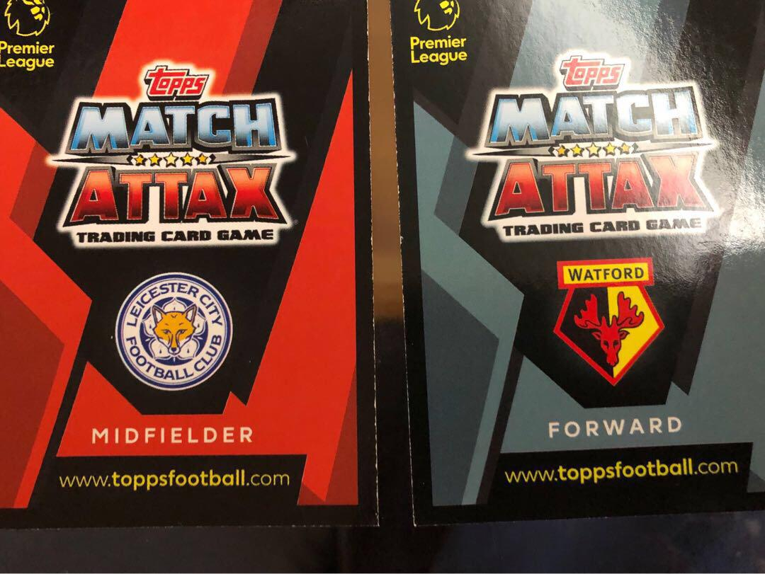 Match Attax 卡(買一張送一張)