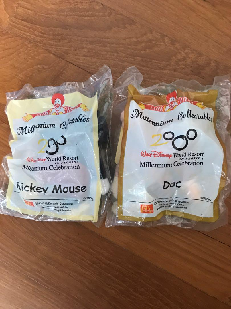 Mickey Mouse macdonalds collectibles