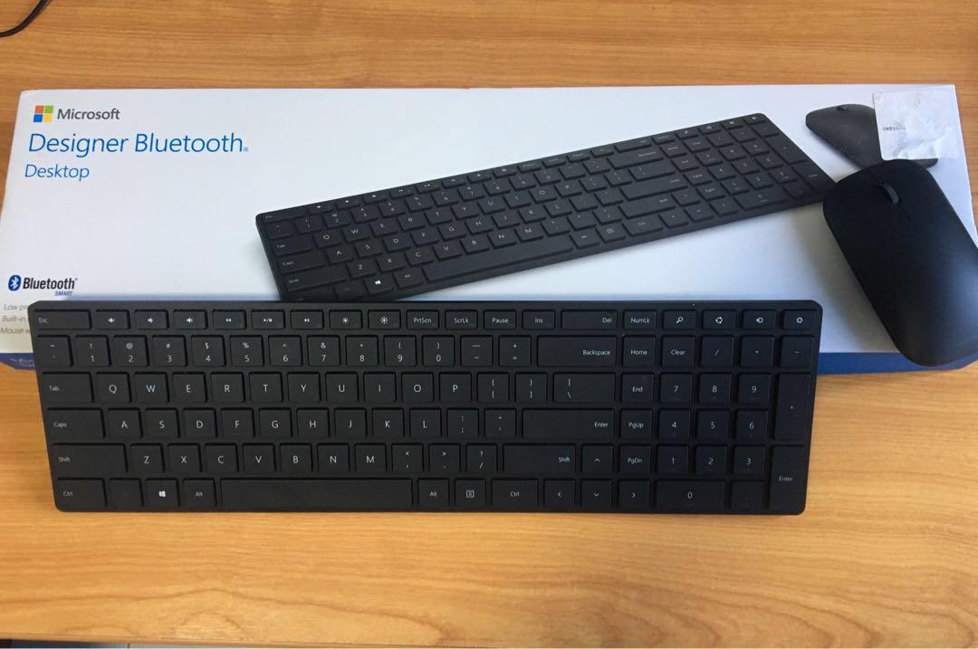 b8037dde022 Microsoft Designer Wireless Keyboard & Mouse, Electronics, Computer ...
