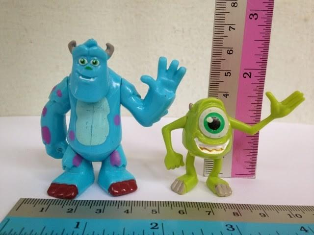 Brilliant Monster Inc Birthday Cake Topper Toys Figurines Toys Games Personalised Birthday Cards Veneteletsinfo