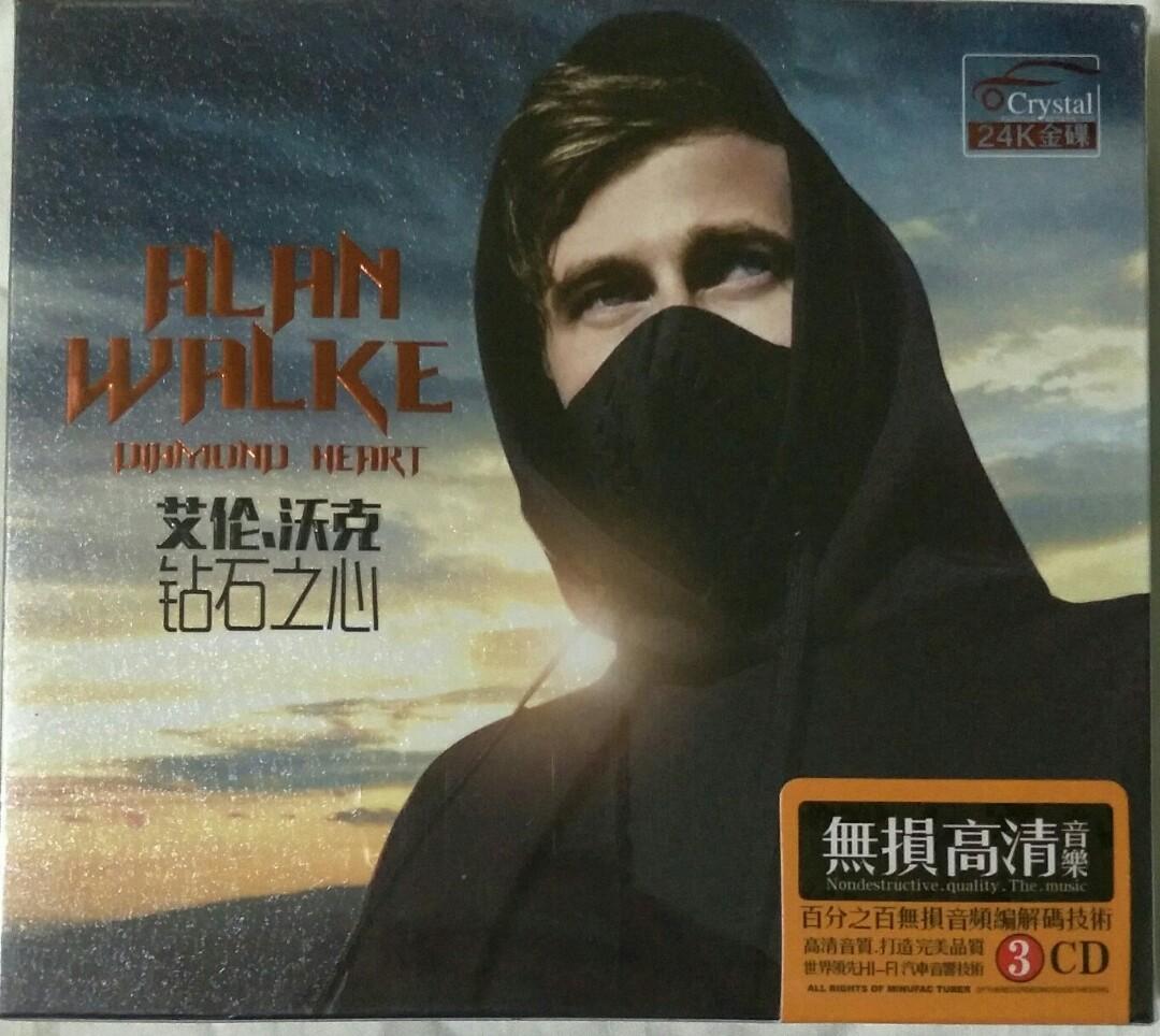 [Music Empire] Alan Walker - Different World Audiophile CD Album