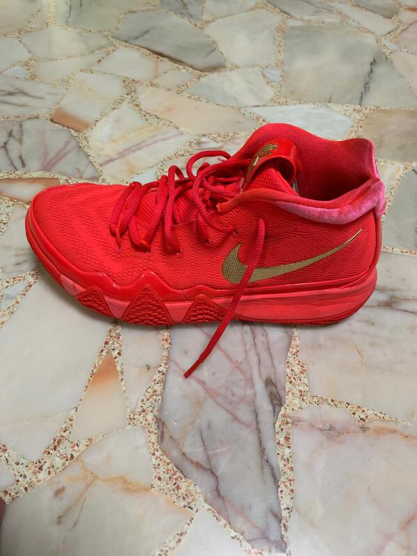 low priced 92867 51866 Nike Kyrie 4 Red Carpet, Sports, Sports Apparel on Carousell