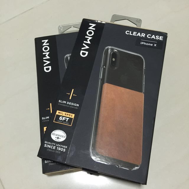 buy popular bfe0e bcbe8 Nomad Clear Case for iPhone X & iPhone XS