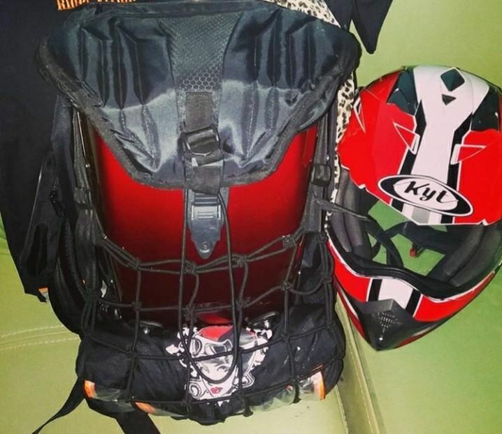 Paket Hemat!! Tas & Helm Fullface
