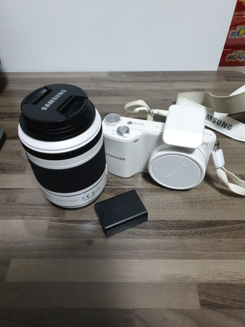 Samsung NX2000 Camera + 50-200mm Zoom Lens
