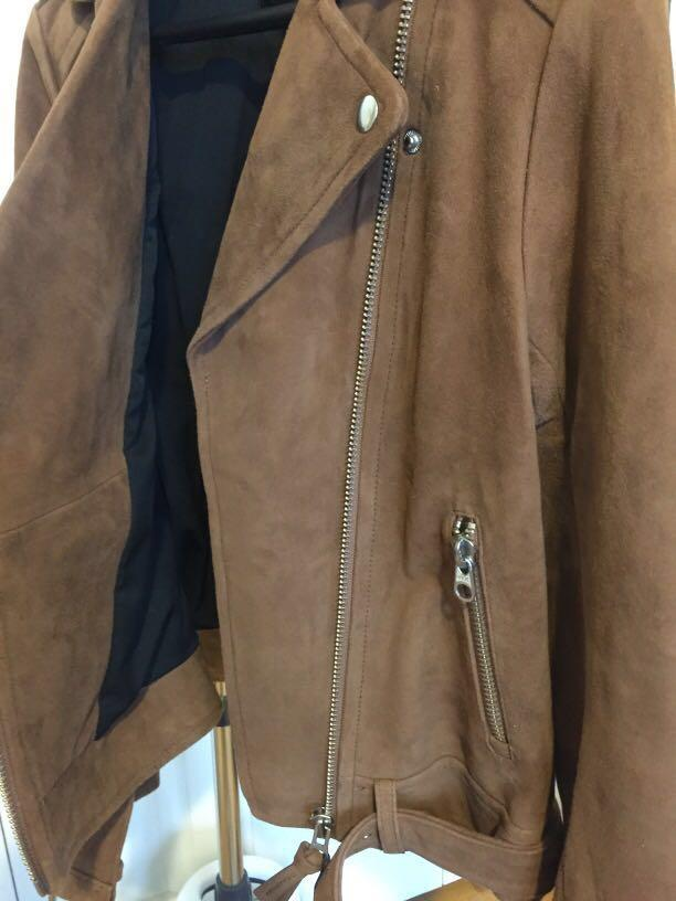 Suede Mackage Jacket - originally $695!!!!! (never worn-tags attached)
