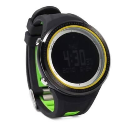 SUNROAD FR800NB MULTIFUNCTIONAL DIGITAL SPORTS WATCH ALTIMETER STOPWATCH BAROMETER PEDOMETER WRISTWATCH