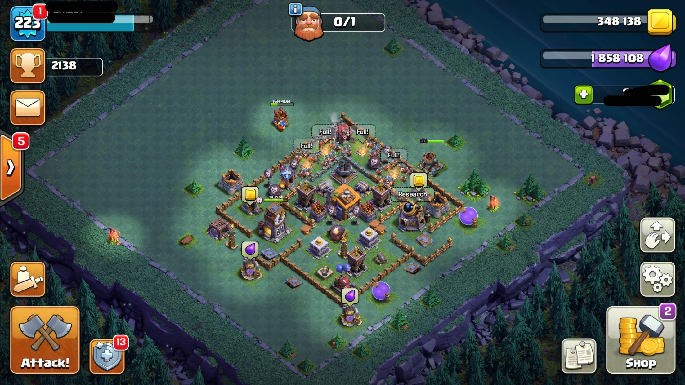 TH12 MAX HEROES 🔥 Clash of clans, Toys & Games, Video
