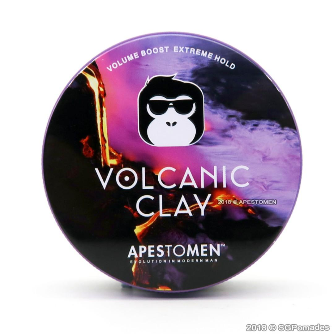 Volcanic Clay by APESTOMEN - SG Pomades Mens Grooming