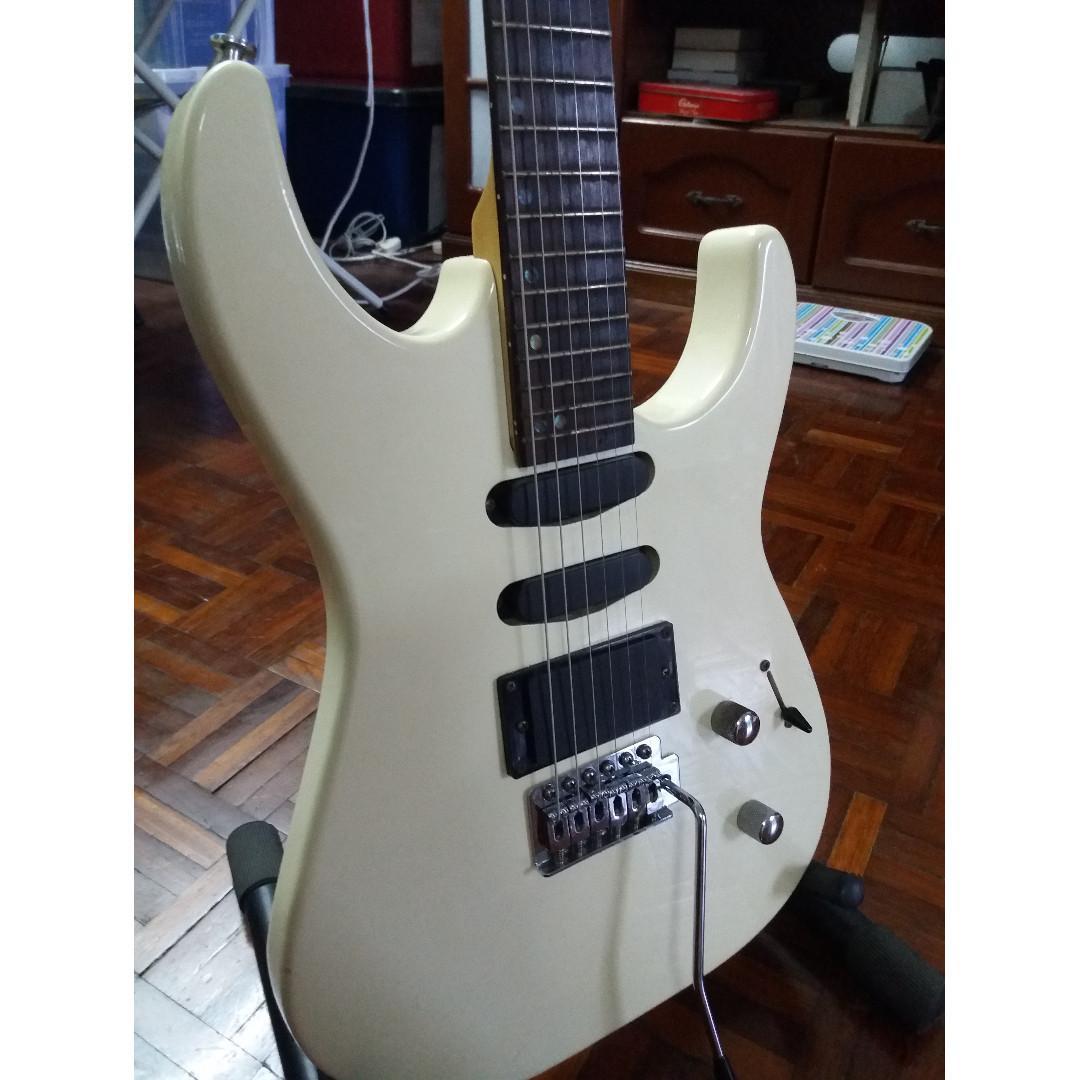 Warnell Stratocaster Electric Guitar #Rayathon50