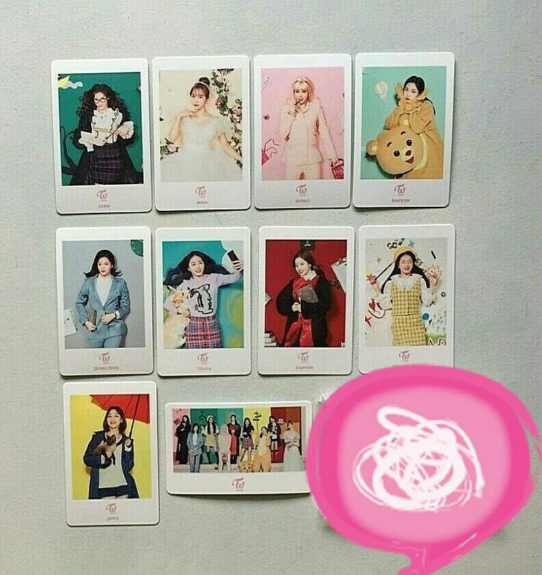 WTS Twice #Dreamday Japan Dome Tour Photocard Set A