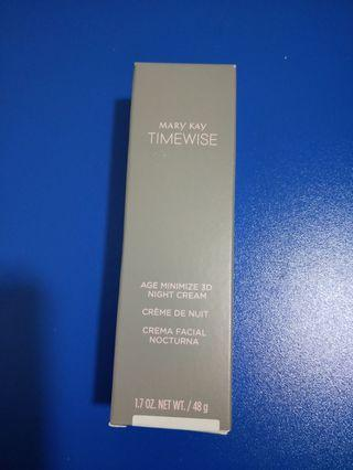 Mark Kay Timewise - age. Minimize 3D night cream