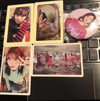 [Instock] Twice PO Benefit Photocards/Badge