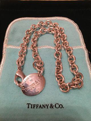 Tiffany silver necklace 銀鏈