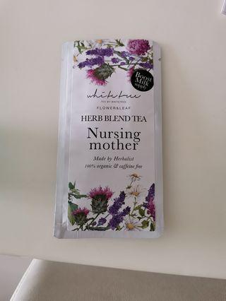 Whitetree nursing tea