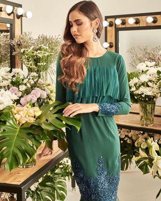 AinaHariz Lebaran 2019 - Ezlisa Pleated Luxe