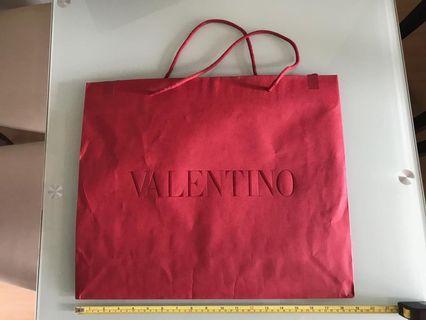Valentino 紙袋paper bag