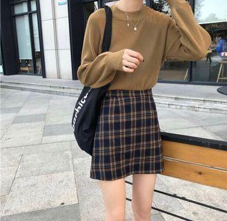 Plaid Skirt PO🥳