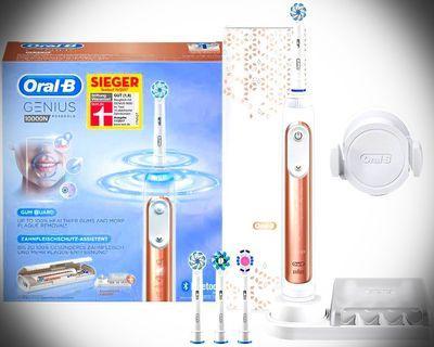 55折❌全新 Oral-BGENIUS 10000 電動 藍芽 防水 牙刷