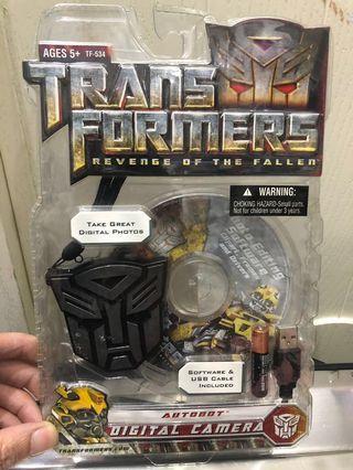 TransFormers 變形金剛相機玩具