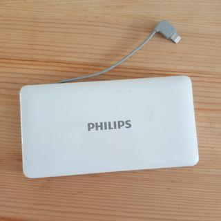 Philips Powerbank 10000mAh Fast Charge & Lightning Cable