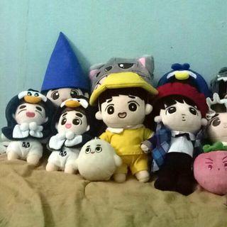 EXO Member Dolls