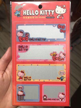 Hello Kitty刮刮貼紙