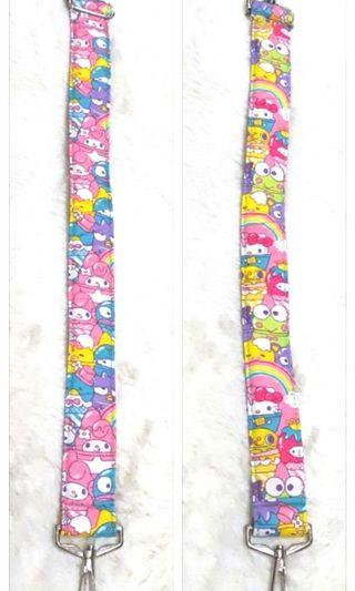 Bn hello sanrio sweets custom short strap