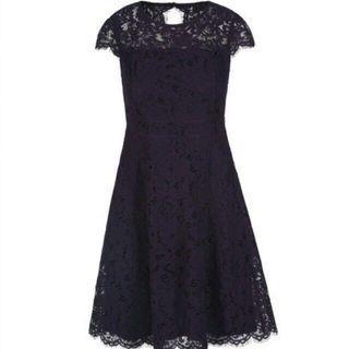 Brand New Purple Lace Dress (Size 8)
