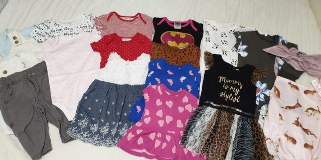6-12m Baby Girl's Clothing