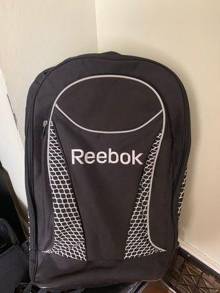 Reebok large hockey bag - black