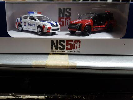 NS50 SPF/SCDF Toy Cars