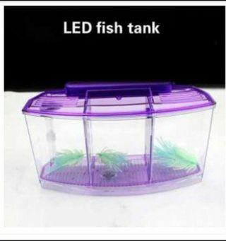 Mini Aquarium Small Aquarium Lights LED