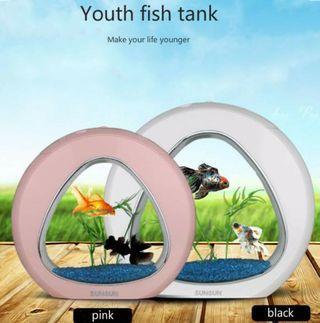 LED Desktop Fish tank