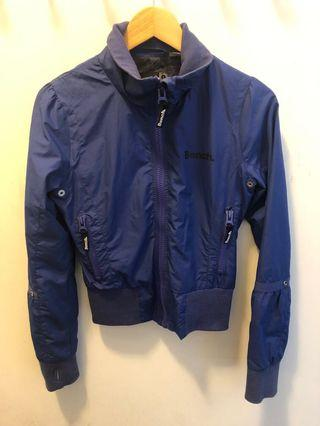 Blue bench jacket size small