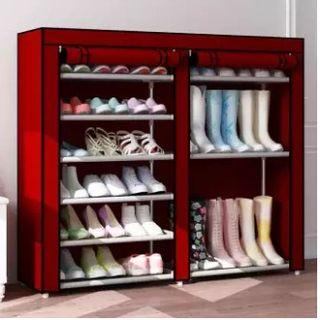 Shoe Rack Made of Moso Bamboo Simplicity Household Economy
